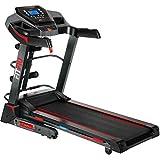 FITFIU Fitness MC-500 - Cinta de correr Plegable con Inclinación Automática, velocidad 18km/h, pulsómetro, potencia 2200w, Cinta fitness con superfície carrera 41x123cm, peso máx 120kg