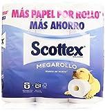 Scottex - Megarollo - Papel higiénico - 9 rollos - [pack de 2]