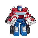 Playskool Heroes Transformers Rescue Bots Academy Optimus Prime, Figura de acción de 4.5 Pulgadas, Juguetes para niños a Partir de 3 años
