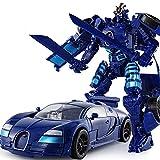LUSTAR Transformers Juguete War For Cybertron Drift Warrior con Figura De Acción De Arma Modelo De Juguetes para Adultos Y Niños De 3 Y Más De 19 Cm (7.5 Pulgadas)