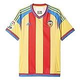 adidas Valencia Away JSY Camiseta, Hombre, Amarillo/Rojo/Azul, S