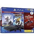 PlayStation 4 500 GB (PS4) + Spiderman + Horizon Hits + R&C Hits