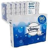 Kleenex Rollos de papel higiénico 8437- blancos, 2 capas, 96 x 210 (20160 hojas)
