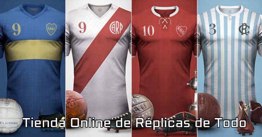 replicas de camisetas de futbol